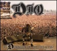 At Donnington UK. Live 1983 & 1987 - CD Audio di Dio