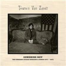 Sunshine Boy. The Unheard Studio Session - CD Audio di Townes Van Zandt