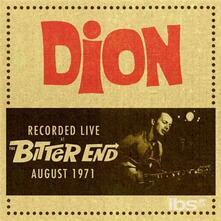 Live at the Bitter End - CD Audio di Dion