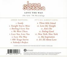 Love the Way. The Solo '70s Recordings - CD Audio di Jorge Santana