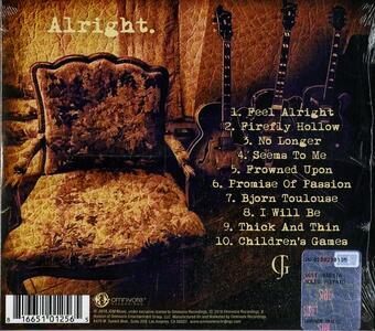 Alright - CD Audio di Jeffrey Gaines - 2