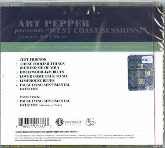 West Coast Session vol.6 - CD Audio di Art Pepper - 2