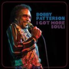 I Got More Soul! - CD Audio di Bobby Patterson