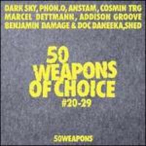 50 Weapons Of Choice #20-29 - Vinile LP