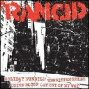 Holiday Sunrise - Unwritten Rules - Union Blood - Get Out of My Way - Vinile 7'' di Rancid
