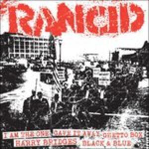 I Am the One - Gave it Away - Ghetto Box - Harry Bridges - Black & Blue - Vinile 7'' di Rancid