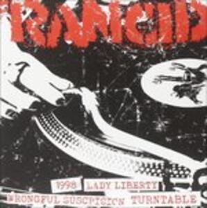 1998 - Lady Liberty - Wrongful Suspicion - Turntable - Vinile 7'' di Rancid