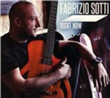 Right Now - CD Audio di Fabrizio Sotti
