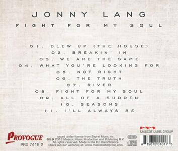 Fight for My Soul - CD Audio di Jonny Lang - 2