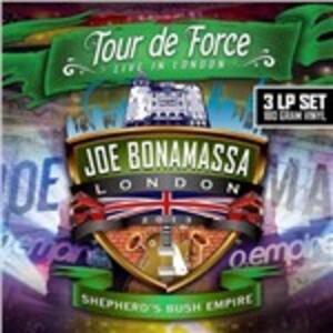 Tour de Force. Live in London: Shepherd's Bush Empire - Vinile LP di Joe Bonamassa