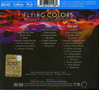 Second Flight. Live at the Z7 - CD Audio + Blu-ray di Flying Colors - 2