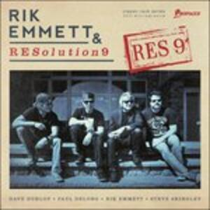 Res9 - Vinile LP di Rik Emmett,Resolution 9