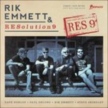 Res9 - CD Audio di Rik Emmett,Resolution 9