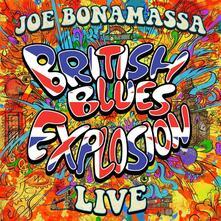 British Blues Explosion Live - CD Audio di Joe Bonamassa