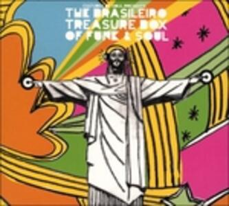 Brasileiro Treasure Box of Funk and Soul - CD Audio