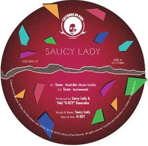 Town-Honey B - Vinile LP di Saucy Lady