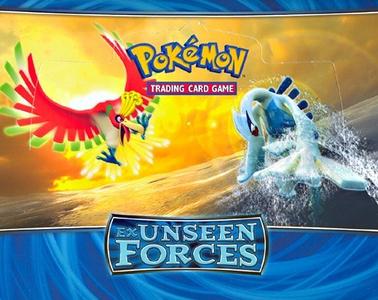 Giocattolo PK-EX Unseen Forces Mazzi (UK) 8 pz Game Freak 0