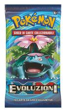 Giocattolo Pokemon. XY. Evoluzioni. Busta 10 Carte Konami
