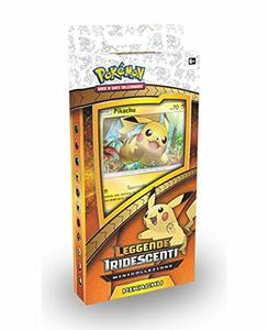 Pokemon. Pin Collection Scatola 3 Buste + 1 Spilla + 1 Carta Pikachu - 2