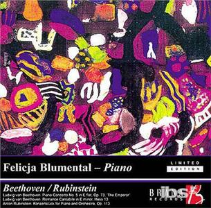 Piano Concerto No.5-Roman - CD Audio di Felicja Blumental