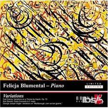 Variations.Czerny-Stamitz - CD Audio di Felicja Blumental