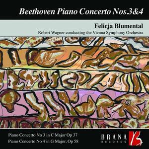 Piano Concertos No.3 & 4 - CD Audio di Ludwig van Beethoven