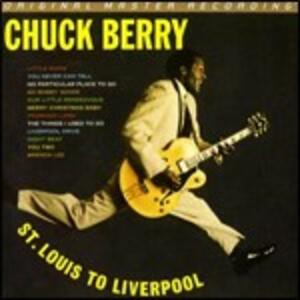 Berry Is on Top. St. Louis to Liverpool (CD Gold) - CD Audio di Chuck Berry