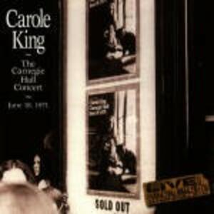 The Carnegie Hall Concert - Vinile LP di Carole King