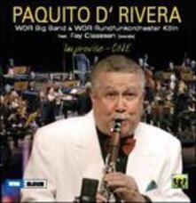 Improvise One Live - CD Audio di Paquito D'Rivera