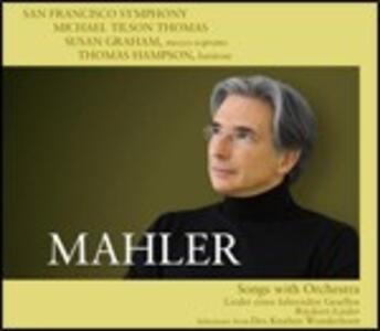Lieder orchestrali - SuperAudio CD ibrido di Gustav Mahler,Susan Graham,Thomas Hampson,Michael Tilson Thomas,San Francisco Symphony Orchestra