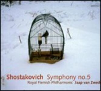 Sinfonia n.5 - CD Audio di Dmitri Shostakovich,Jaap van Zweden,Royal Flemish Philharmonic Orchestra