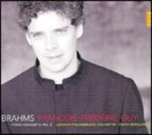 Concerto per pianoforte n.2 - CD Audio di Johannes Brahms,François-Frédéric Guy