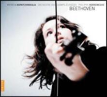 Concerto per violino - Romanze n.1, n.2 - Concerto per violino woo5 frammento - CD Audio di Ludwig van Beethoven,Philippe Herreweghe,Orchestre des Champs-Elysées,Patricia Kopatchinskaja