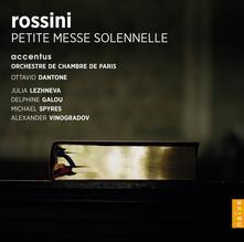 Petite Messe Solennelle - CD Audio di Gioachino Rossini,Ottavio Dantone,Julia Lezhneva,Michael Spyres,Delphine Galou,Alexander Vinogradov