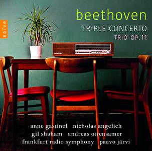 Trio op.11 - CD Audio di Ludwig van Beethoven,Gil Shaham,Nicholas Angelich,Anne Gastinel