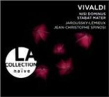 Nisi Dominus - Stabat Mater - CD Audio di Antonio Vivaldi,Philippe Jaroussky,Marie-Nicole Lemieux,Jean-Christophe Spinosi,Ensemble Matheus