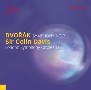 Sinfonia n.9 - CD Audio di Antonin Dvorak,Sir Colin Davis,London Symphony Orchestra