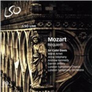 Requiem - SuperAudio CD ibrido di Wolfgang Amadeus Mozart,Sir Colin Davis,London Symphony Orchestra