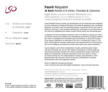 Requiem - SuperAudio CD ibrido di Gabriel Fauré,London Symphony Orchestra,Nigel Short - 2
