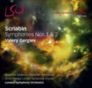 Sinfonie n.1, n.2 (Multicanale) - SuperAudio CD ibrido di Alexander Nikolayevich Scriabin