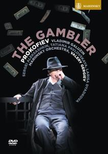 Sergei Prokofiev. The Gambler. Il giocatore di Laurent Gentot - DVD