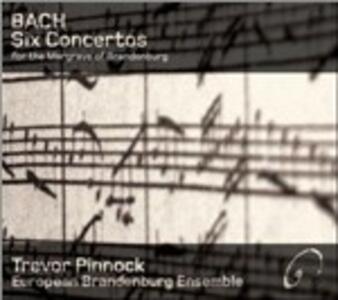 Concerti brandeburghesi - CD Audio di Johann Sebastian Bach,Trevor Pinnock,European Brandeburg Ensemble