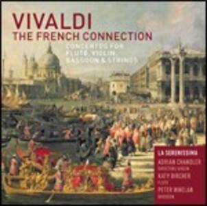 The French Connection - CD Audio di Antonio Vivaldi,La Serenissima,Adrian Chandler