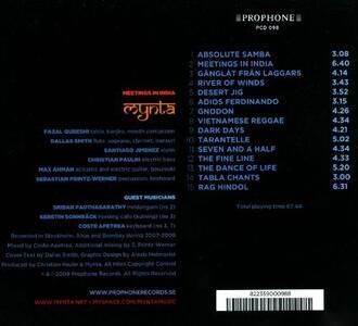 Meetings in India - CD Audio di Mynta