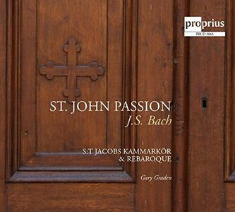 Johannes Passion - CD Audio di Johann Sebastian Bach