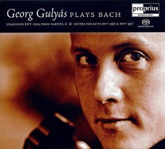 Georg Gulyas Plays Bach - SuperAudio CD di Johann Sebastian Bach