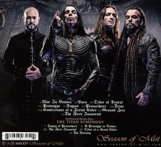 Titan - CD Audio di Septicflesh - 2