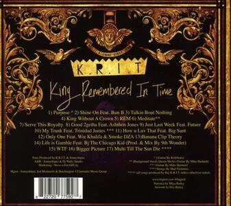 King Rememberred In Tiem - CD Audio di Big KRIT - 2