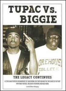 Tupac vs. Biggie. The Legacy Continues (2 DVD)
