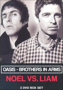 Oasis. Brothers in Arms. Noel vs. Liam (3 DVD) - DVD